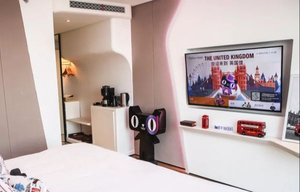 Alibaba opens its first 'future hotel' in eastern China