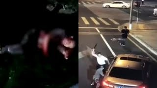 BMW driver killed with own knife in road rage incident, triggers self-defence debate in China