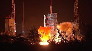 Chang'e-4 spacecraft on the way to the Moon after successful launch from Xichang