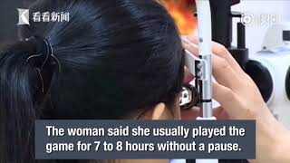 Chinese woman loses vision after excessive video game playing