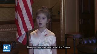 Trump shows Xi video of granddaughter singing in Chinese
