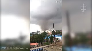 Tornado strikes earthquake-hit Chinese city on same day