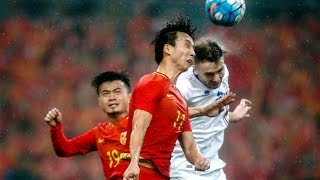 China frozen out by Iceland in China Cup opener