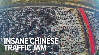 China reveals its top 10 most traffic-congested cities