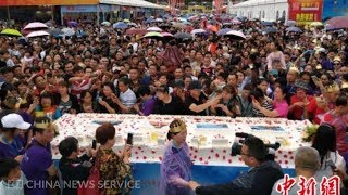 3,188m cake breaks world record in China