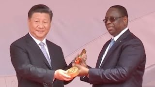 Chinese President Xi visits Rwanda, second stop on Africa tour