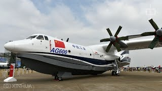 World's largest amphibious plane set for water-based testing later this year