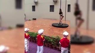 Pole dance show at Chinese kindergarten angers parents
