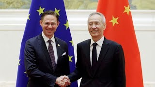 China, EU discuss trade and investment ahead of upcoming EU-China Summit