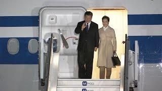 Xi Jinping arrives in South Africa for state visit and BRICS summit