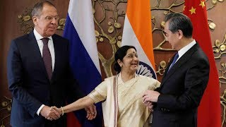 Russia, India and China call for joint action on terrorism