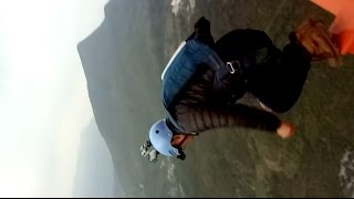 Chinese daredevil jumps from world's highest bridge